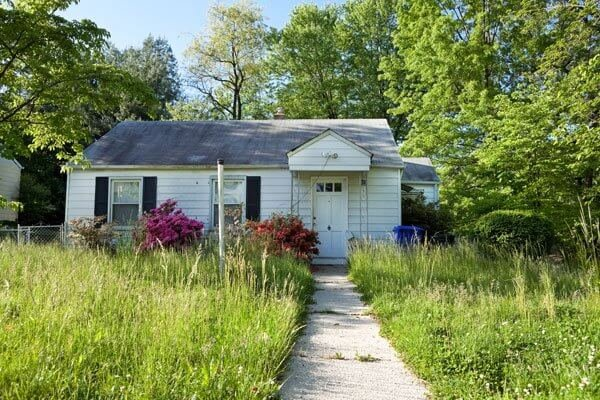 House Needing Repairs