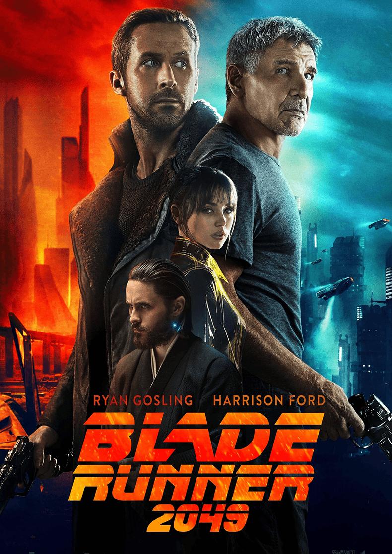 Movie Poster for the Denis Villeneuve film Blade Runner 2049.