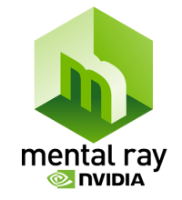 Mental Ray NVIDIA logo