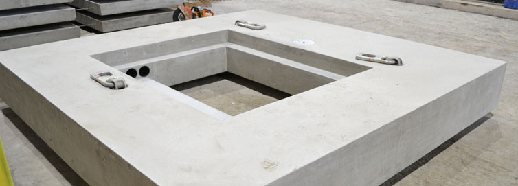 Precast Concrete Bespoke Wet Well Cover Slab Product