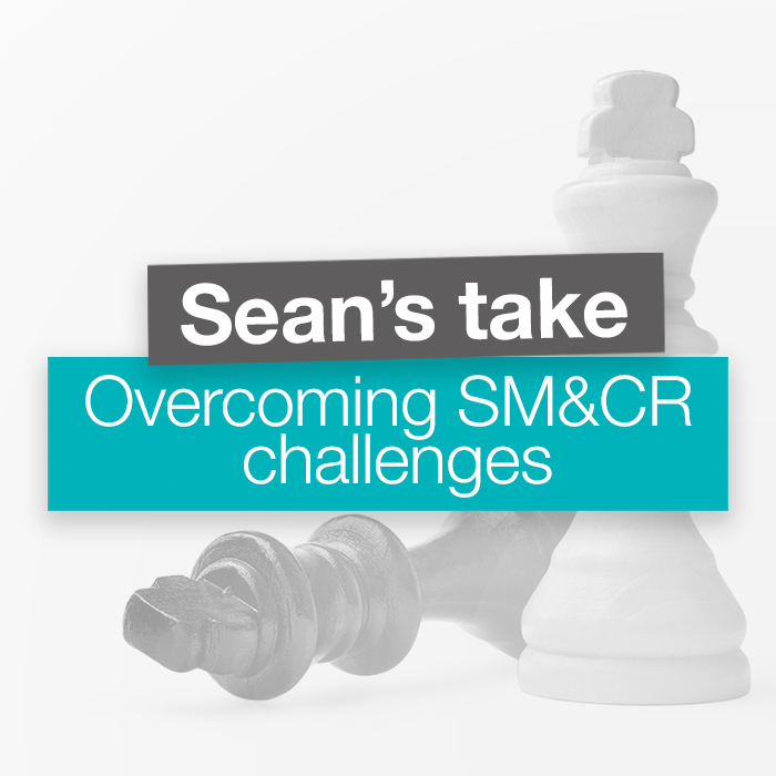 Overcoming SM&CR challenges