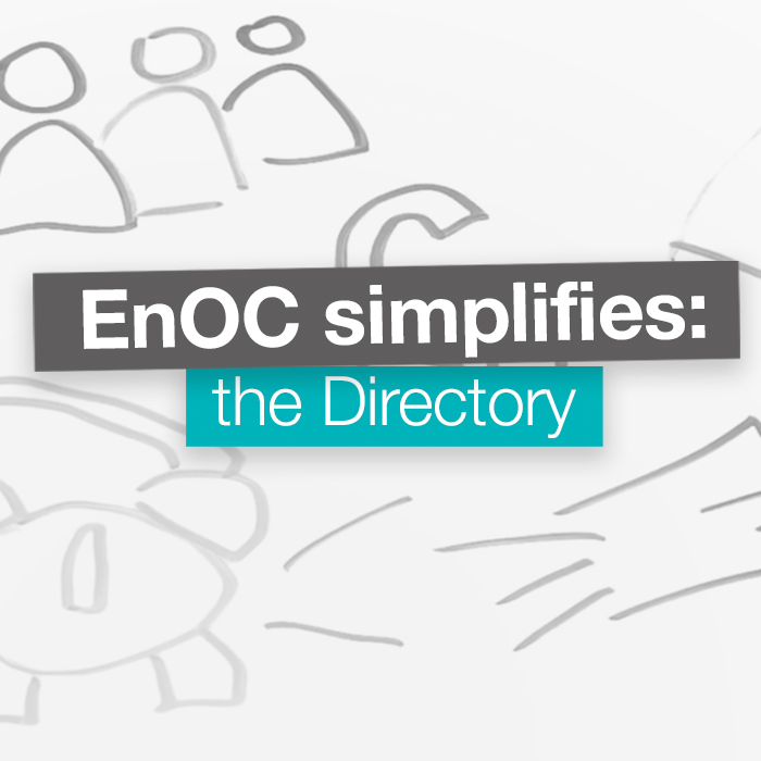EnOC Simplifies: the Directory