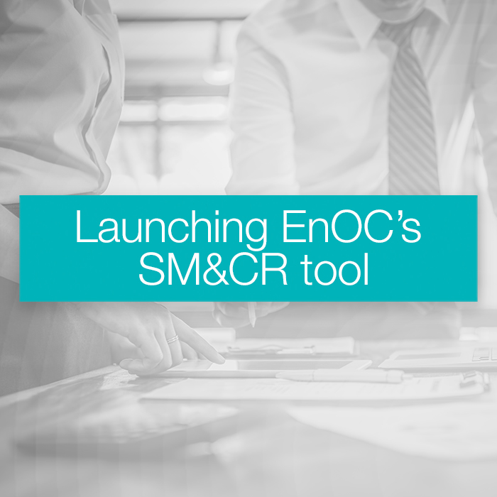 Launching EnOC's SM&CR tool