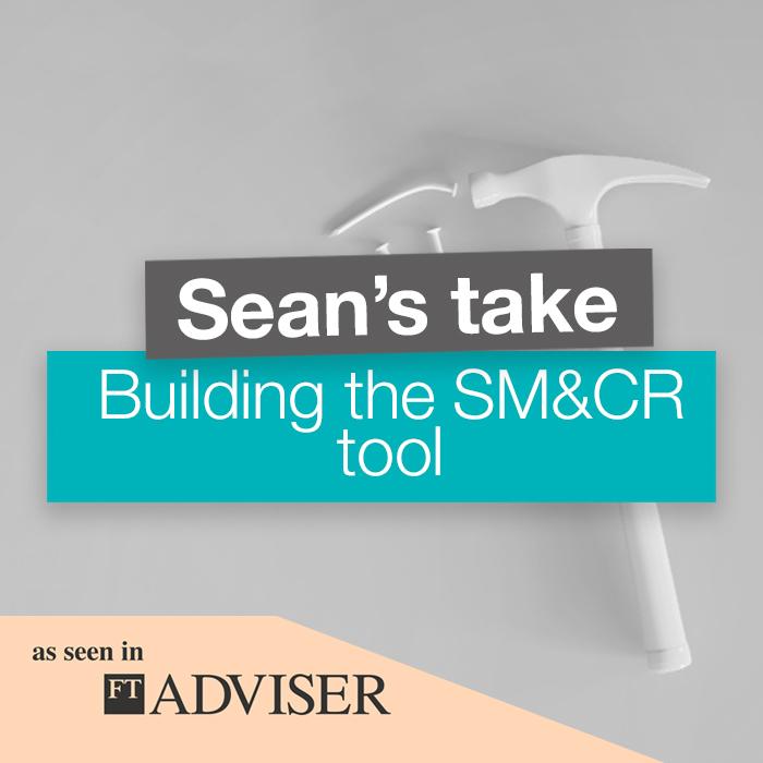 Building the SM&CR tool
