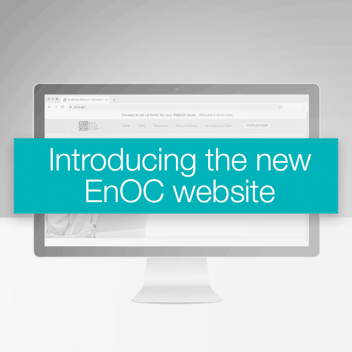 Introducing the new EnOC website