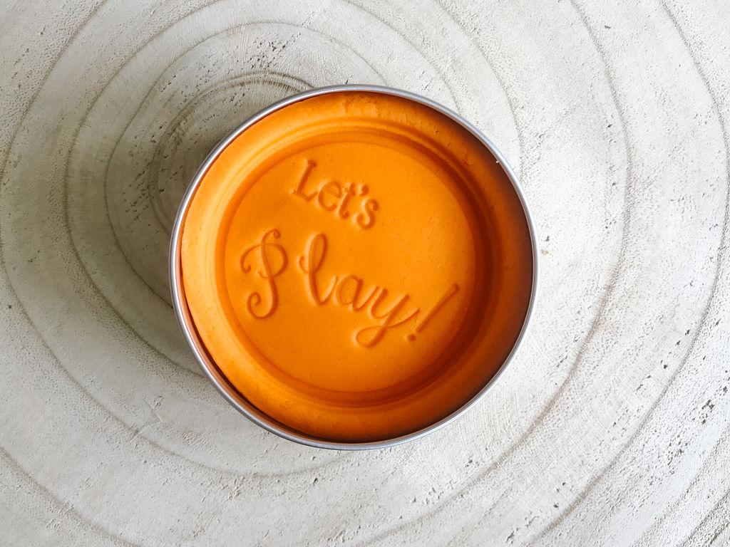 Tangy Tangerine Sensory Dough
