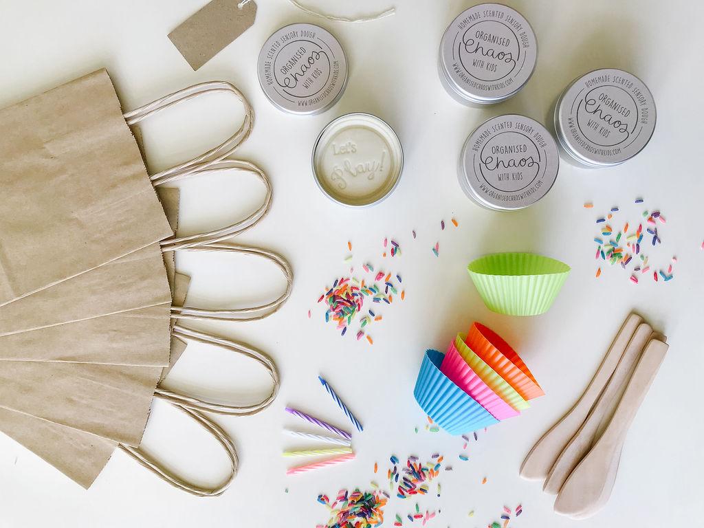 Vanilla Cupcake Party Bags