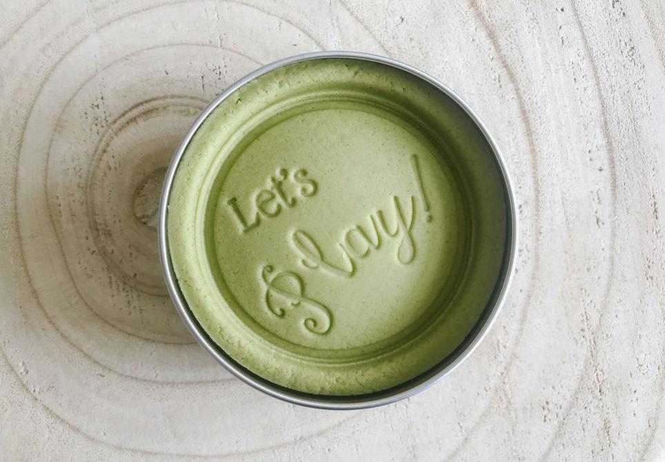 Moss Green Sensory Dough