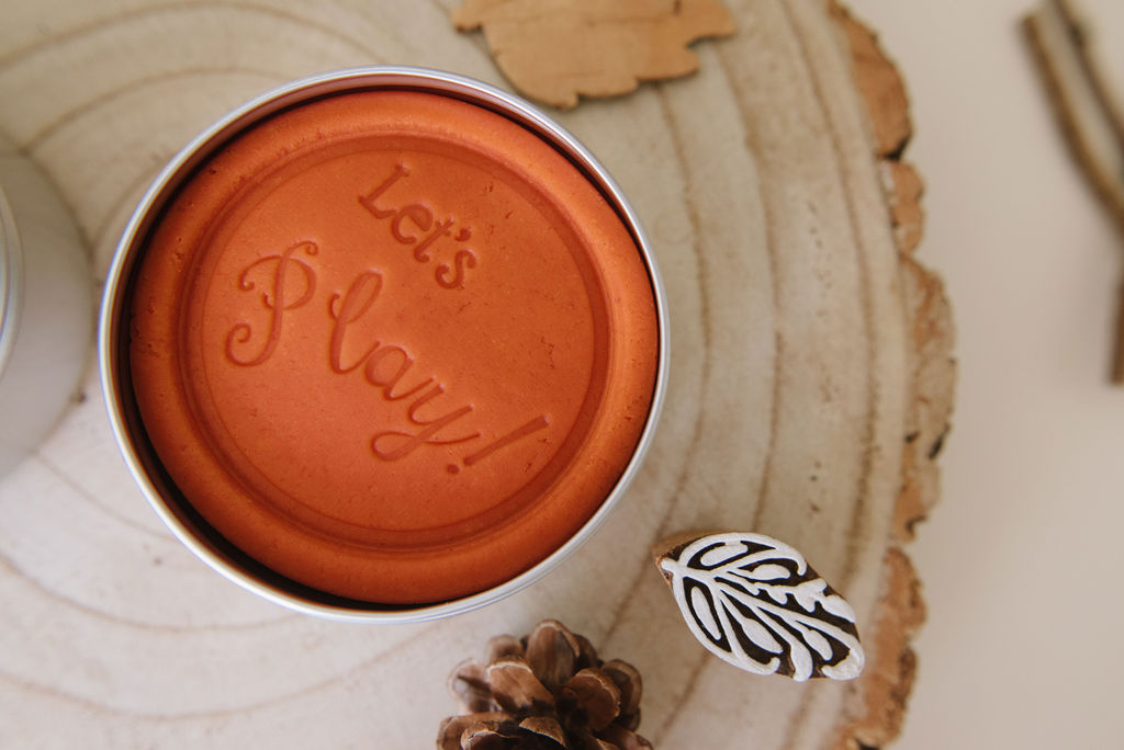 Spiced Pumpkin Sensory Dough