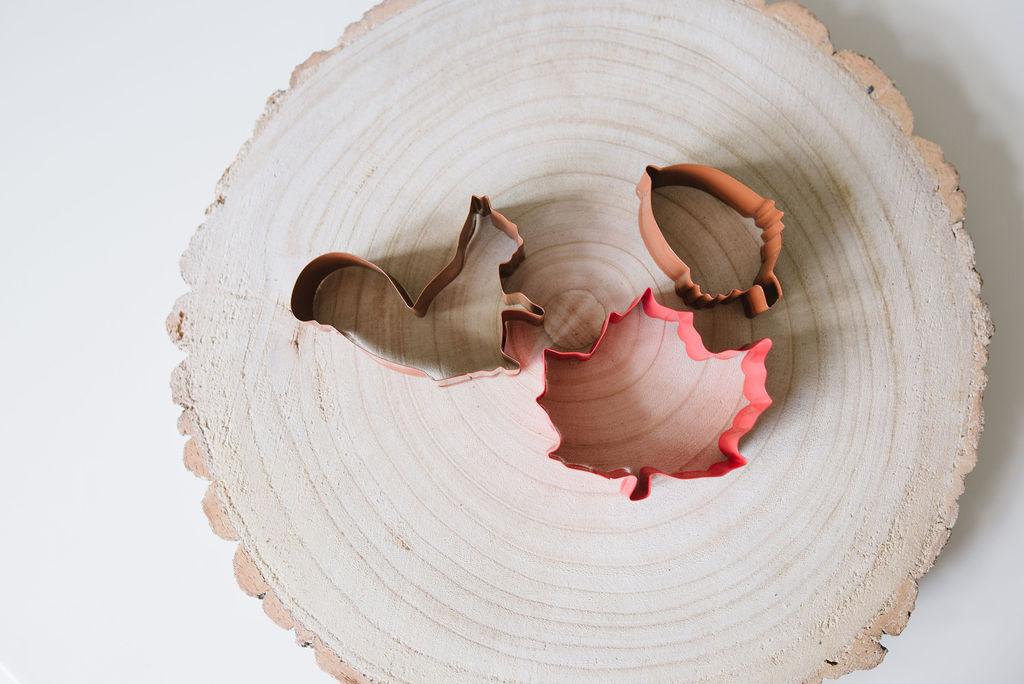 Autumn Woodland Dough Cutter Set
