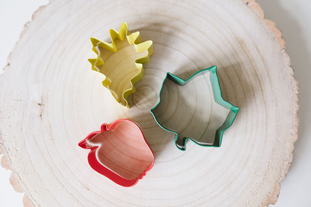 Autumn Garden Dough Cutter Set