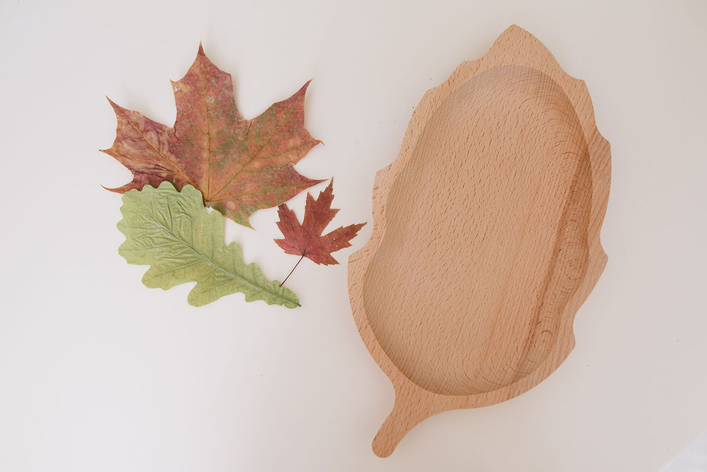 Wooden Leaf Plate