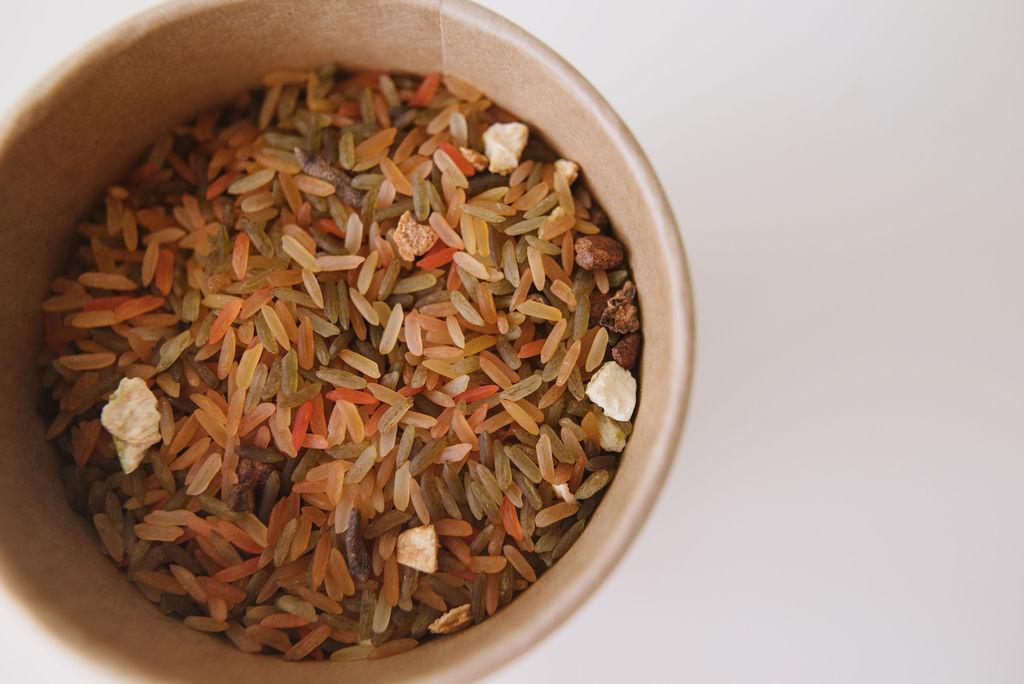 Forest Floor Sensory Rice