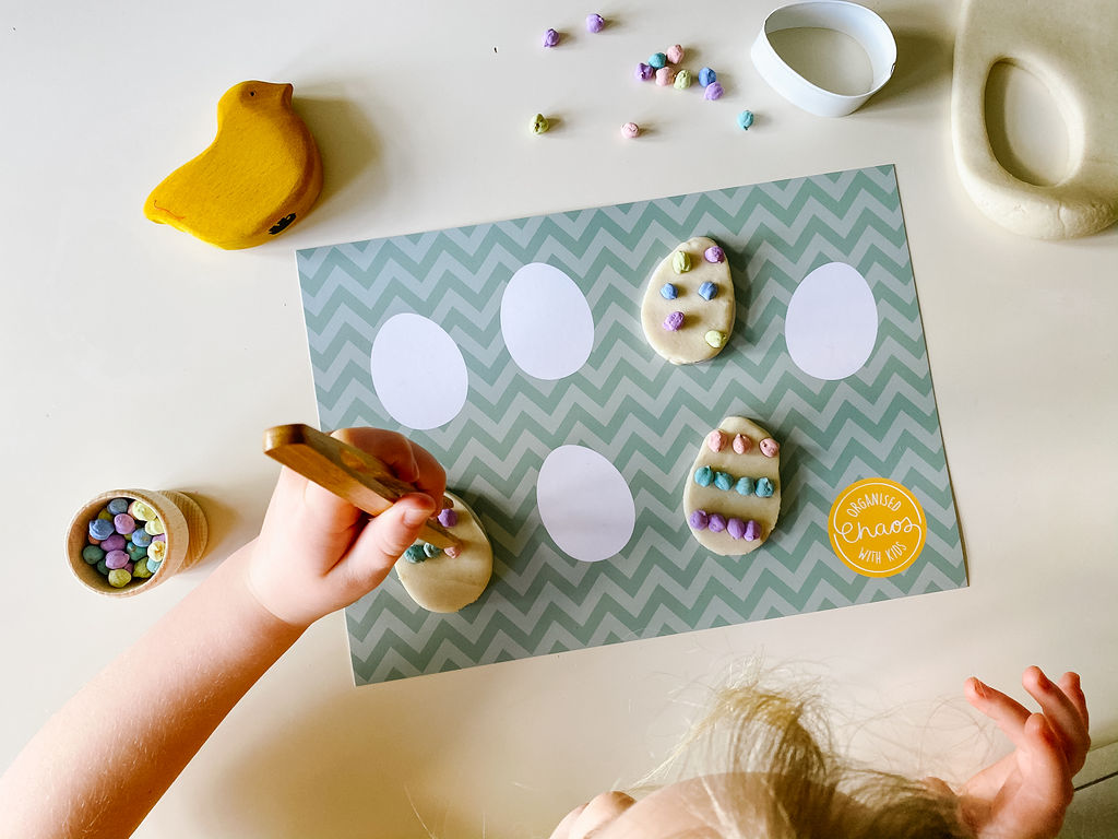 Easter Play Dough Mats (A4)