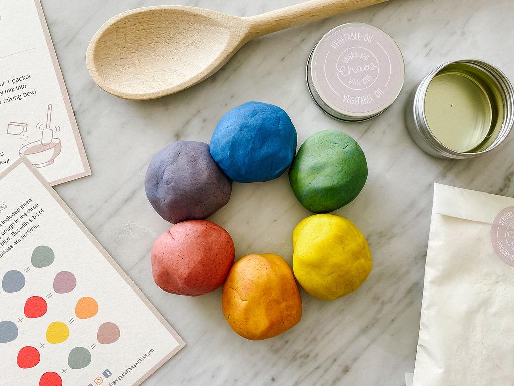 Make Your Own Sensory Dough