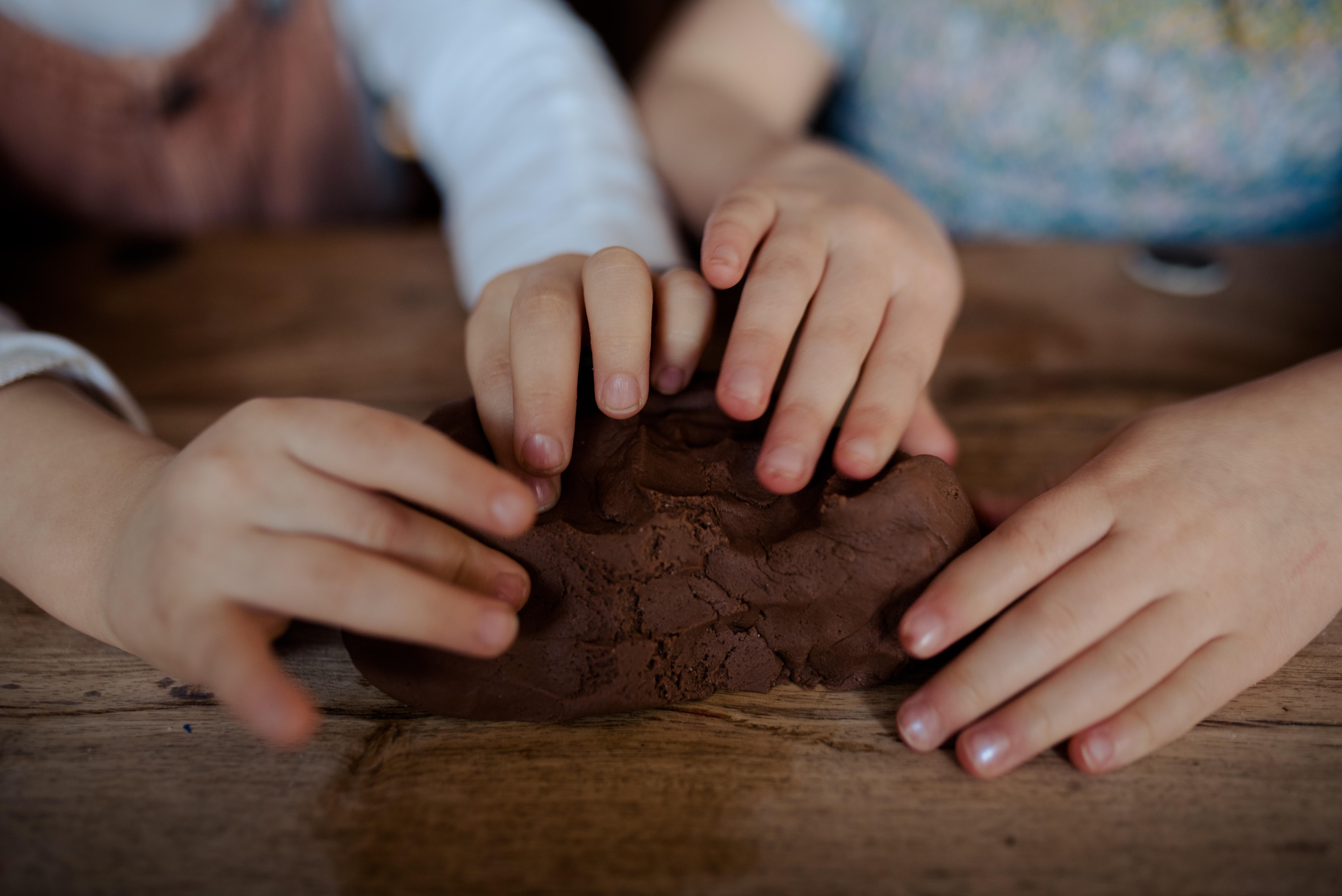 Make Your Own Chocolate Sensory Dough