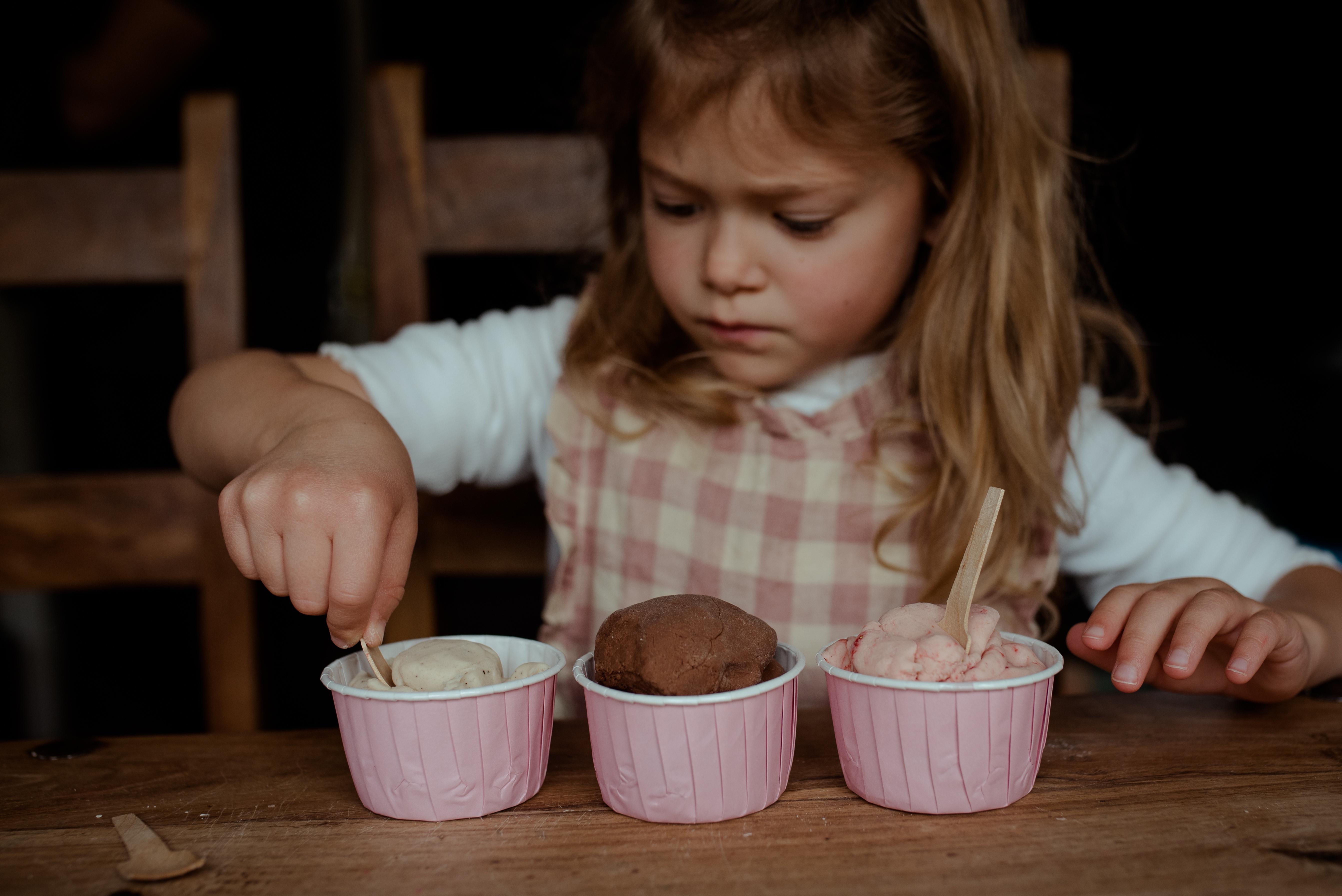 Make Your Own Ice Cream Sensory Dough