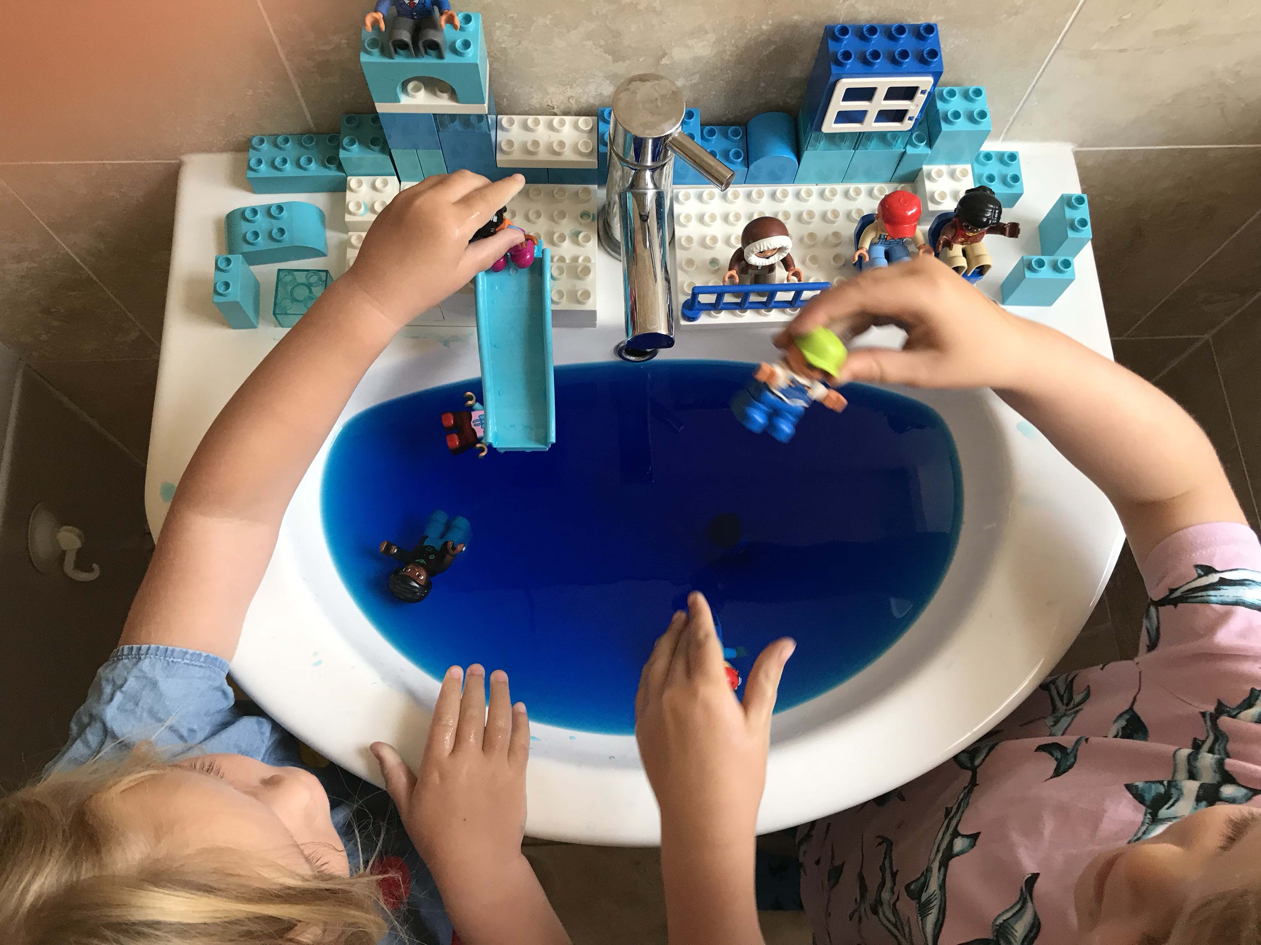 Sink play ideas for the Summer