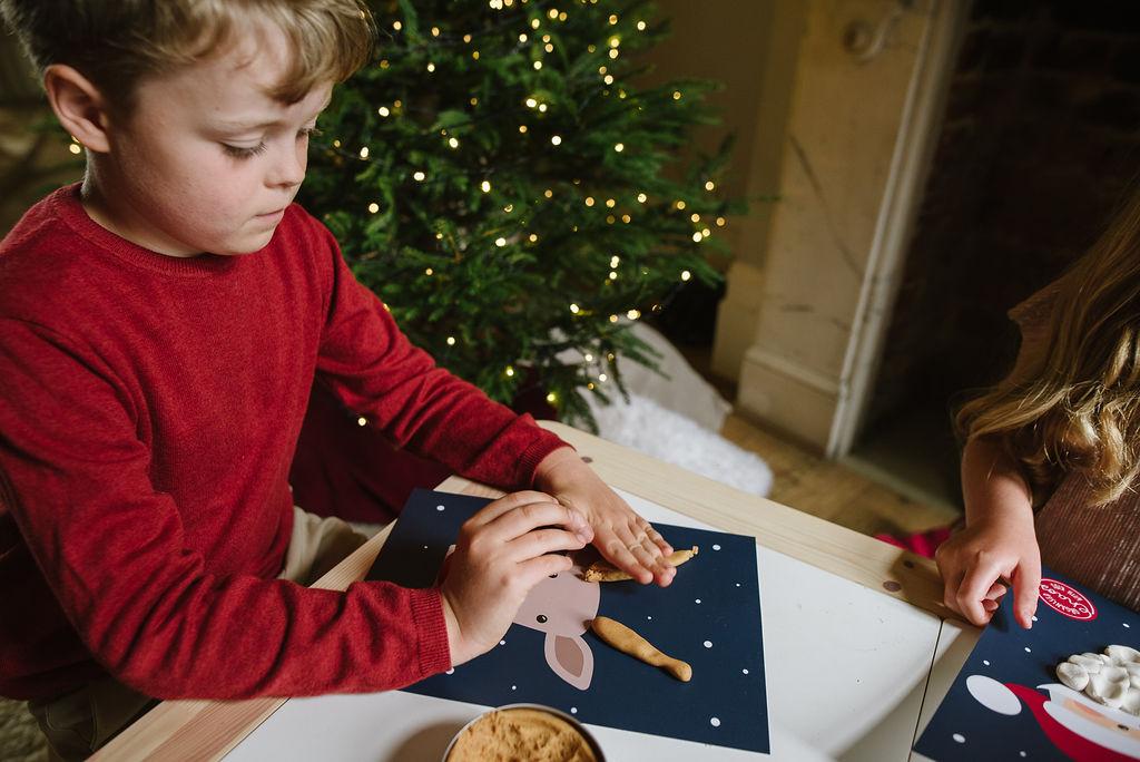 Christmas Characters Play Dough Mats (A4)