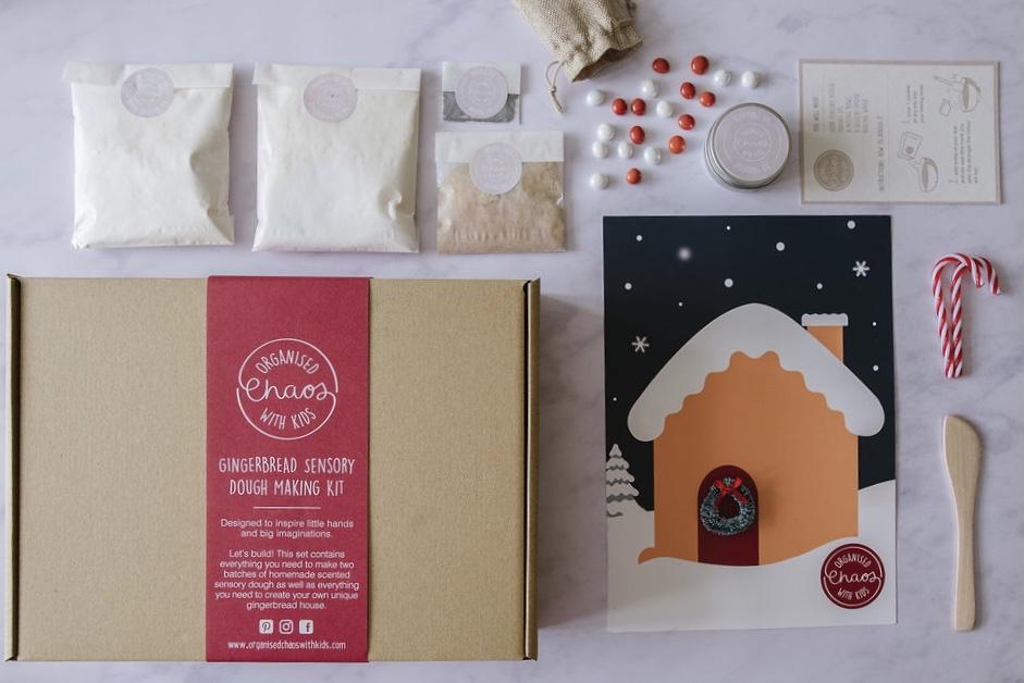 Gingerbread Sensory Dough Making Kit