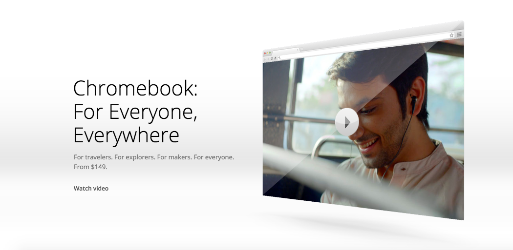 chromebook product video