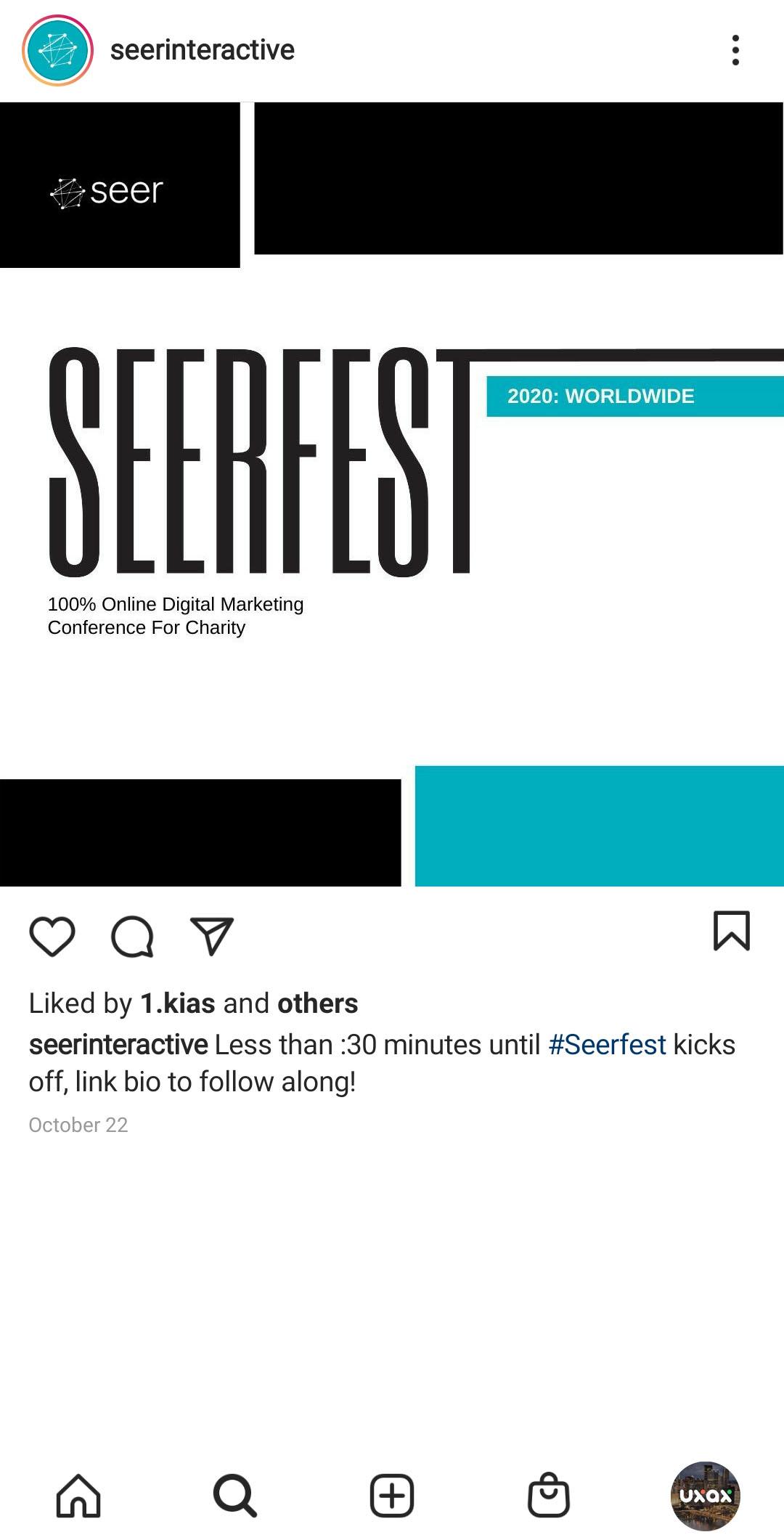 Seer Interactive Instagram