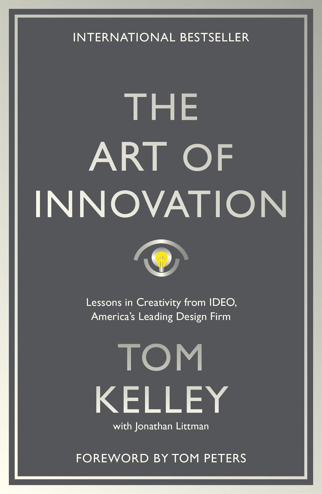 The Art Of Innovation: Lessons in Creativity from IDEO, America's Leading  Design Firm: Kelley, Tom: 9781781256145: Amazon.com: Books