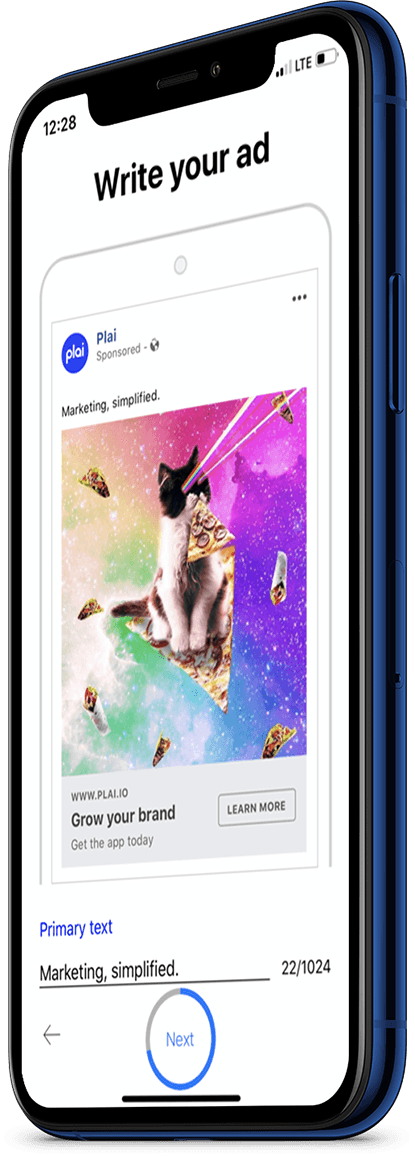 Plai digital marketing app