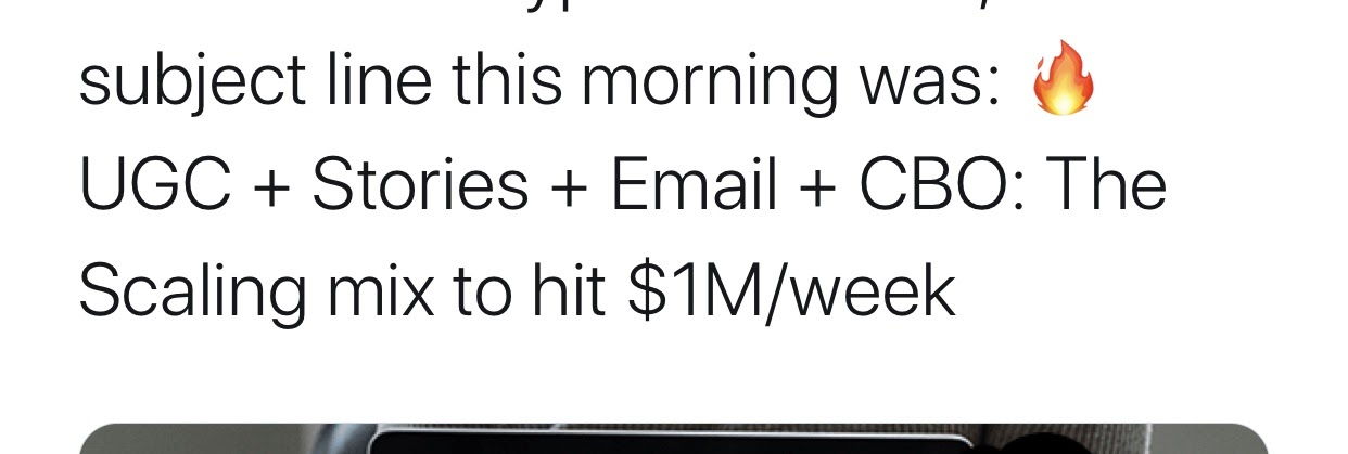 user-generated content profit tweet make money on instagram