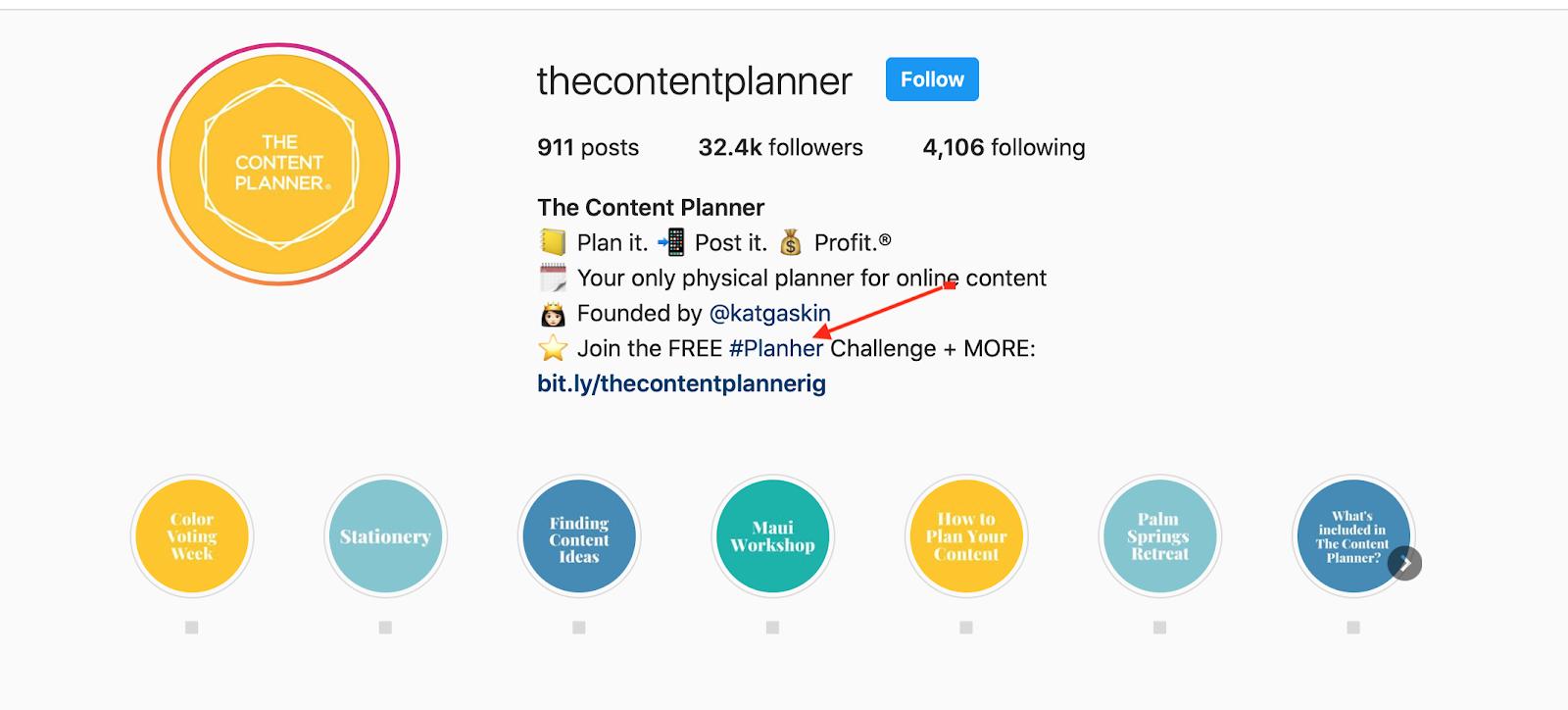 the content planner instagram bio hashtag optimize your instagram bioi