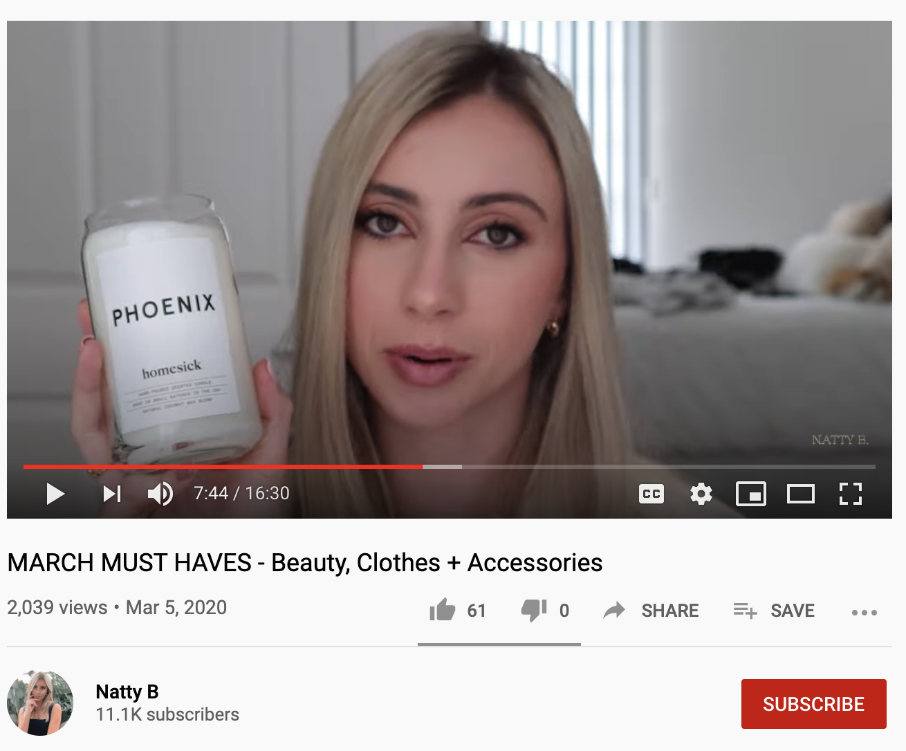 natty b youtube rewardstyle affiliate links