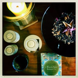 Advent Dark Journal candles, book of blessings, and offering bowl