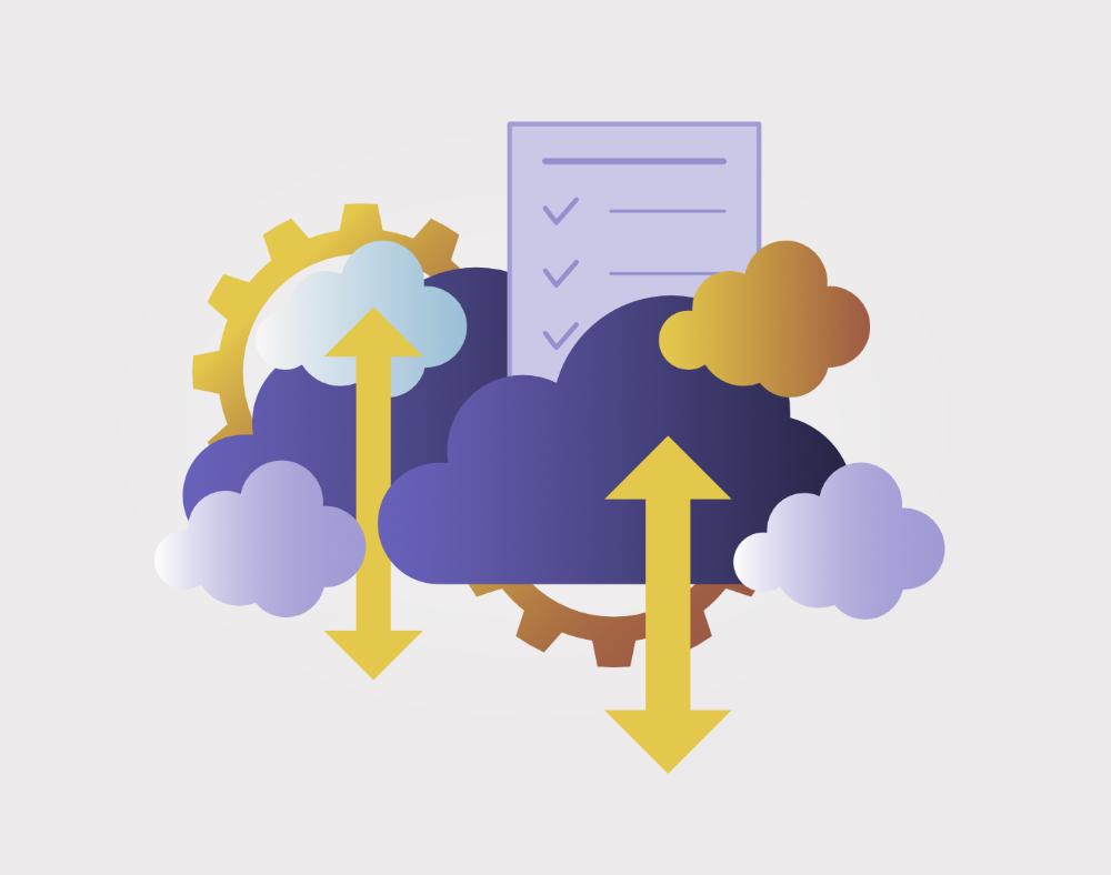 wijb.design portfolio gallery - cloud computing illustration