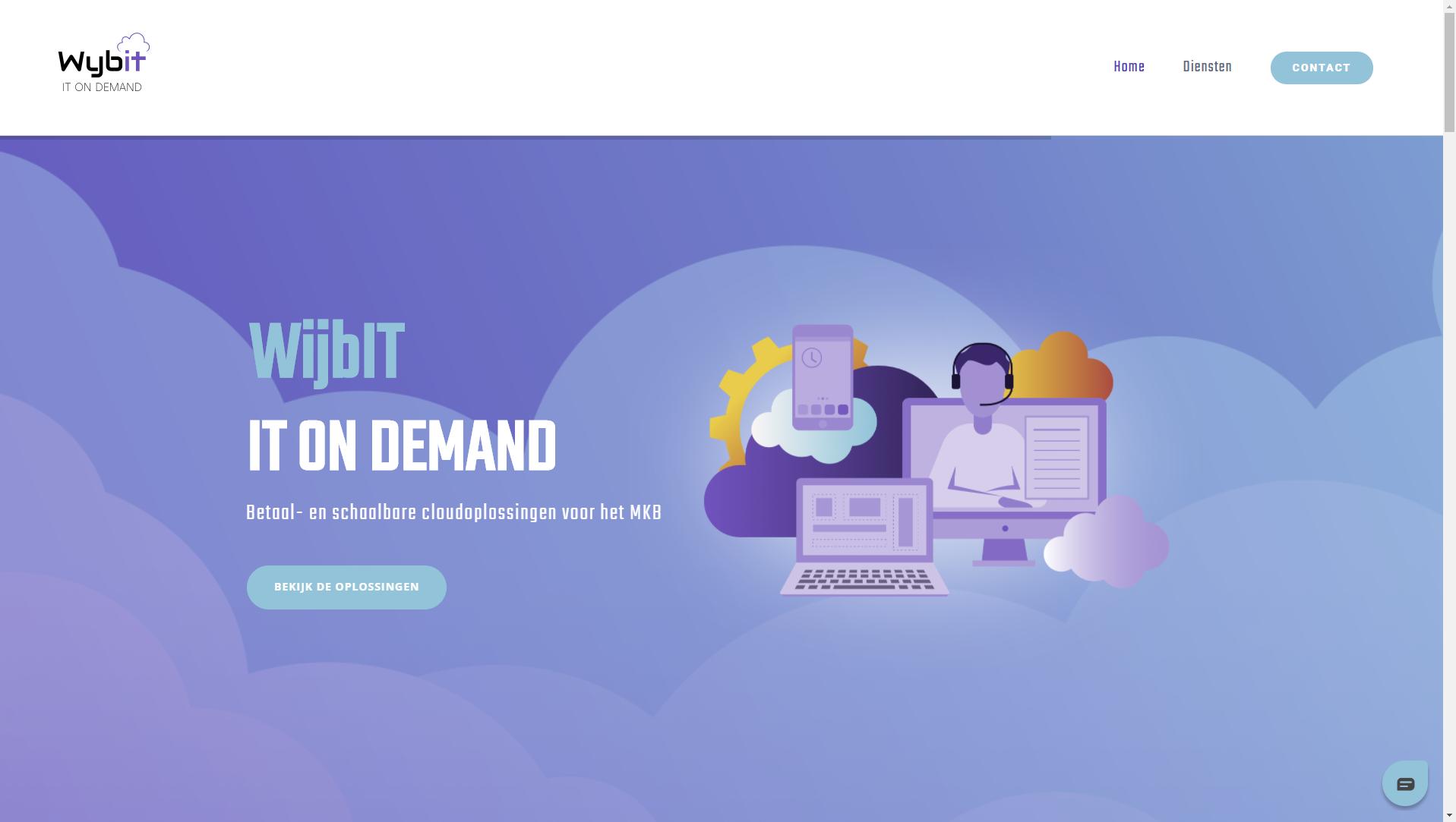 wijb.design portfolio gallery - cloud hero