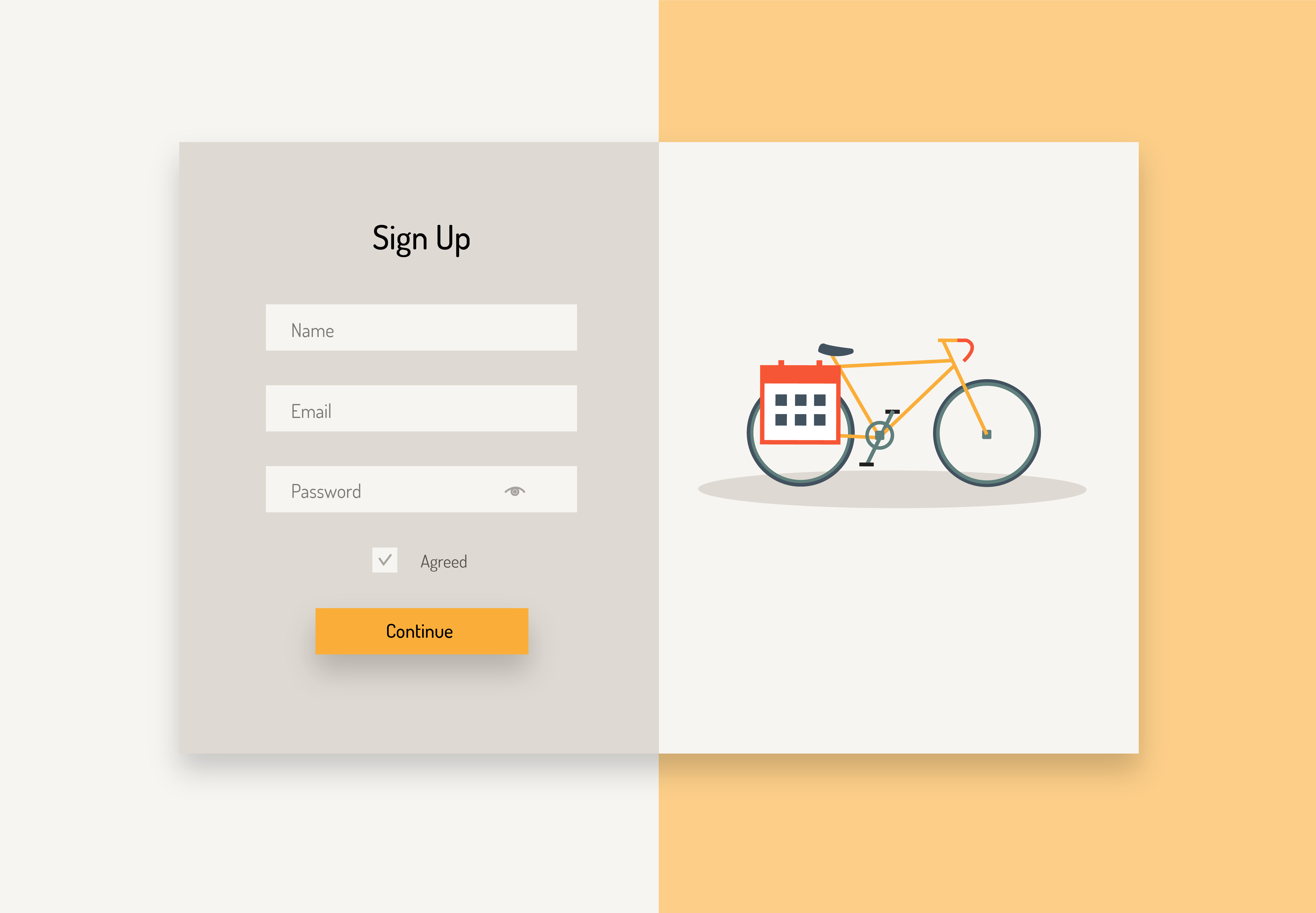 wijb.design portfolio gallery - signup