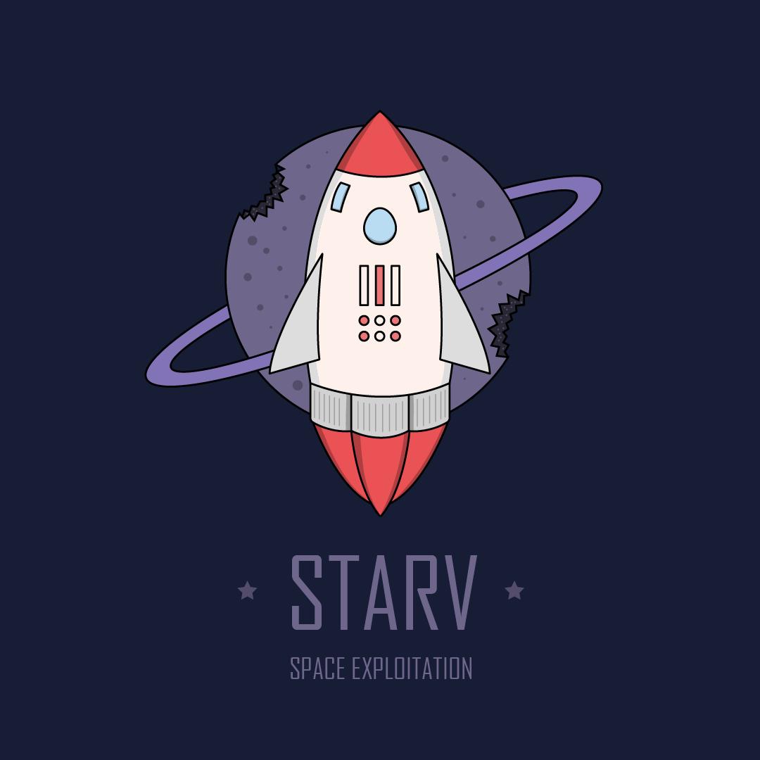 wijb.design portfolio gallery - rocket illustration funny