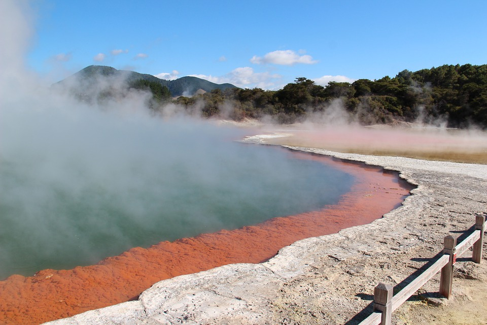 Volcano Area Rotorua, New Zealand