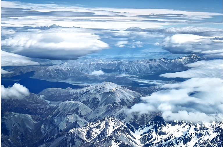 Southern Alps in Canterbury