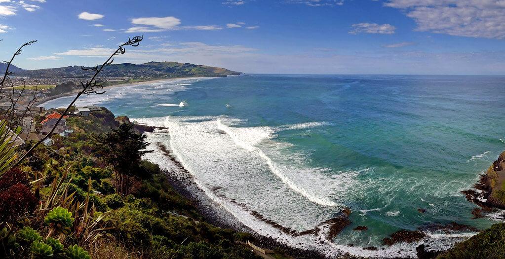 Second Beach, West of St Clair Beach, Dunedin