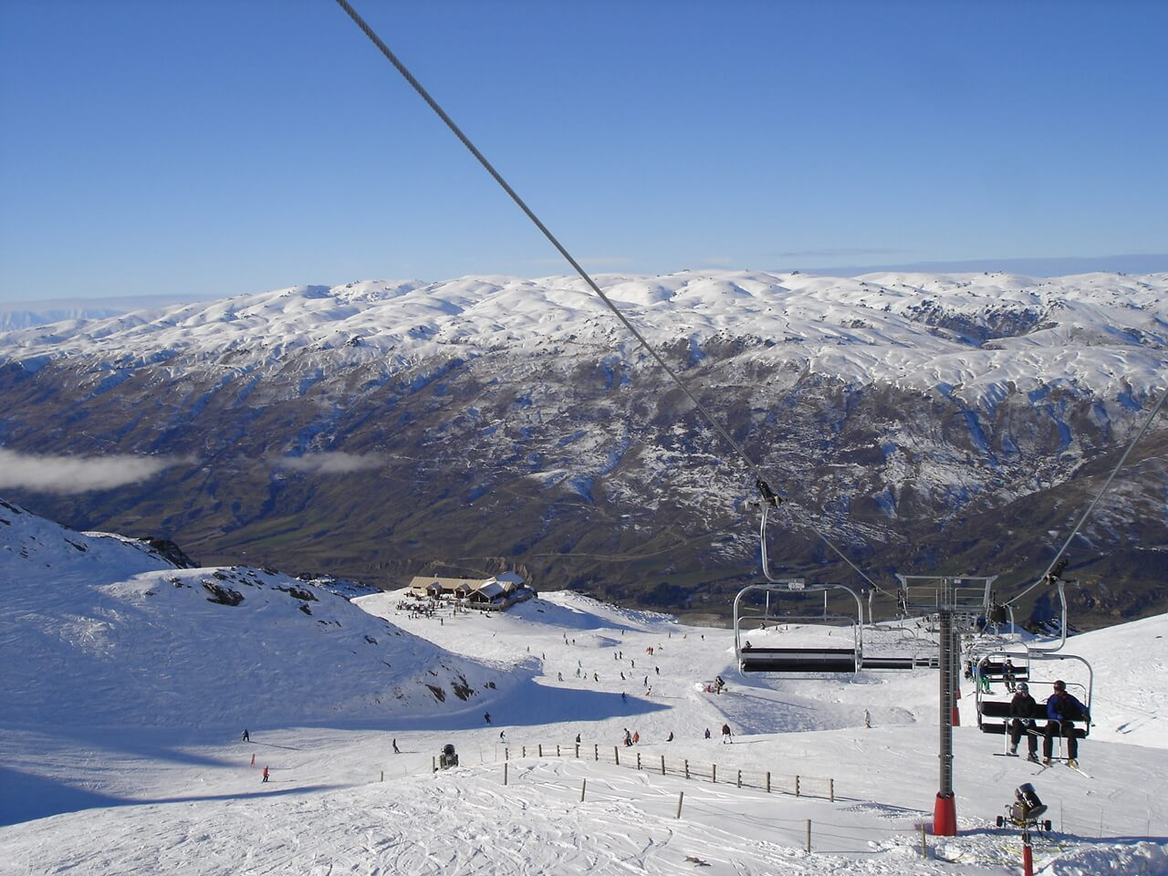 Cardrona Ski field - great for families and all levels of skier and rider