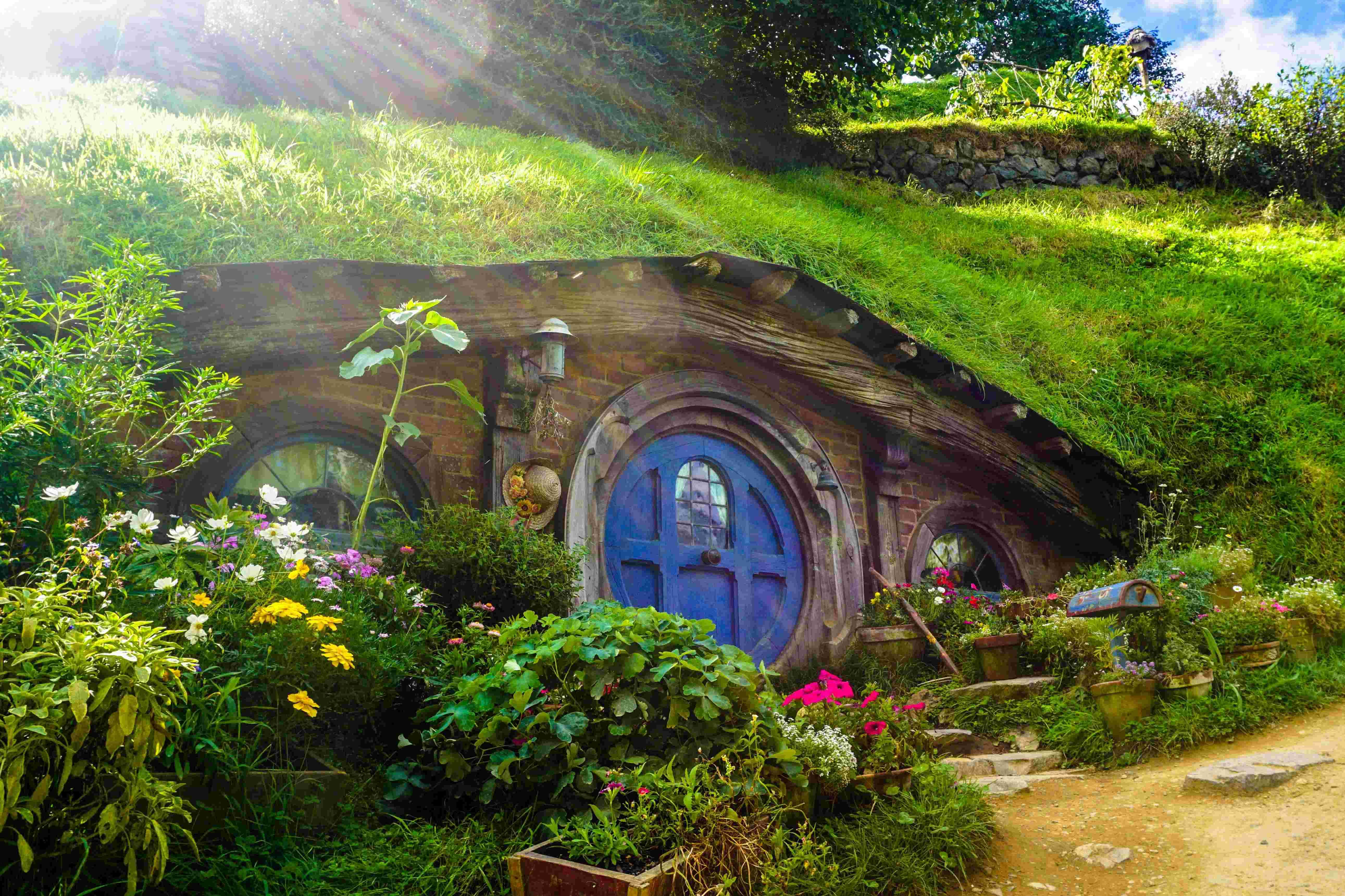 Hobbiton Movie Set in Waikato