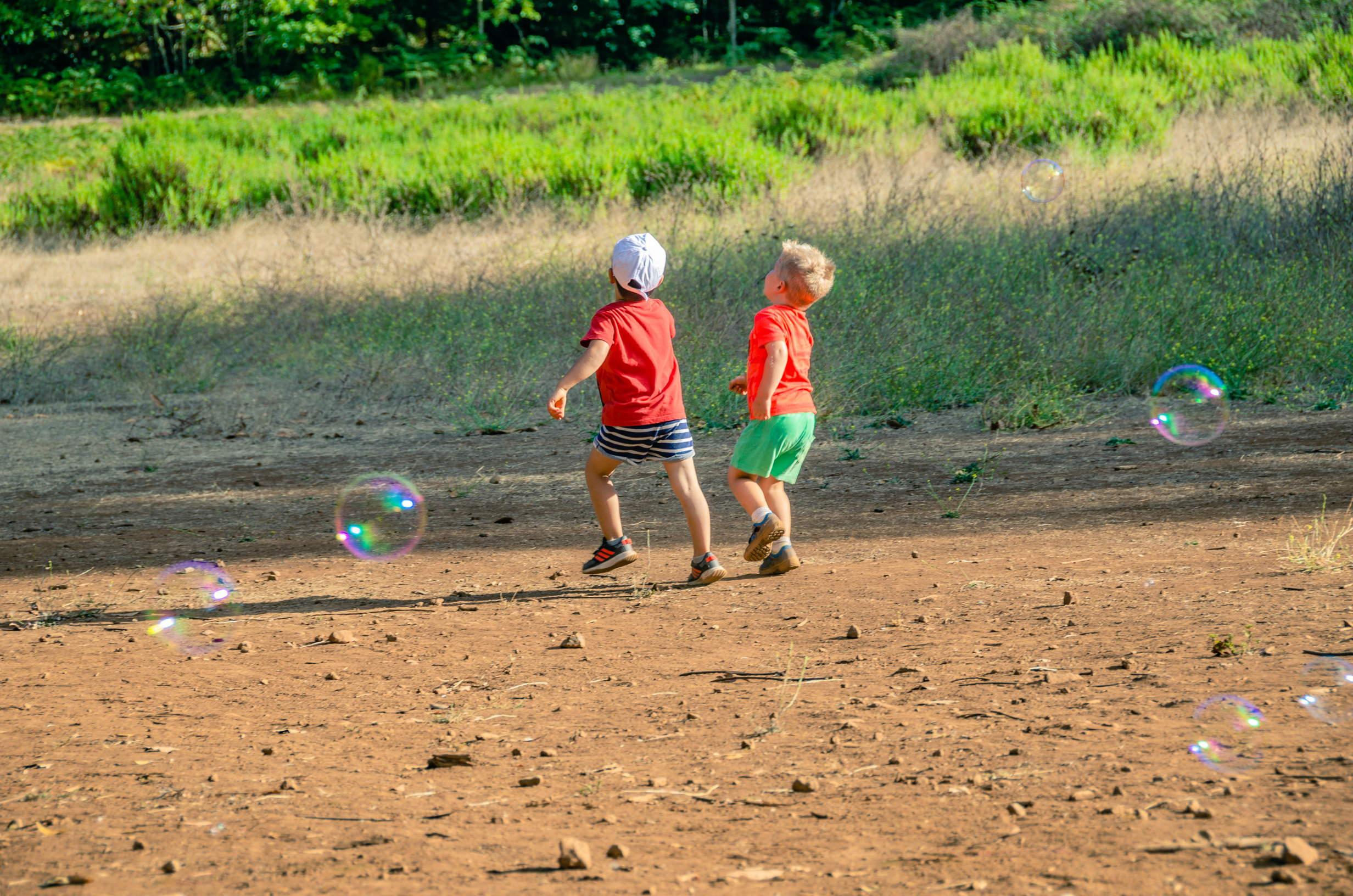 Kids having fun at Finca de Osorio
