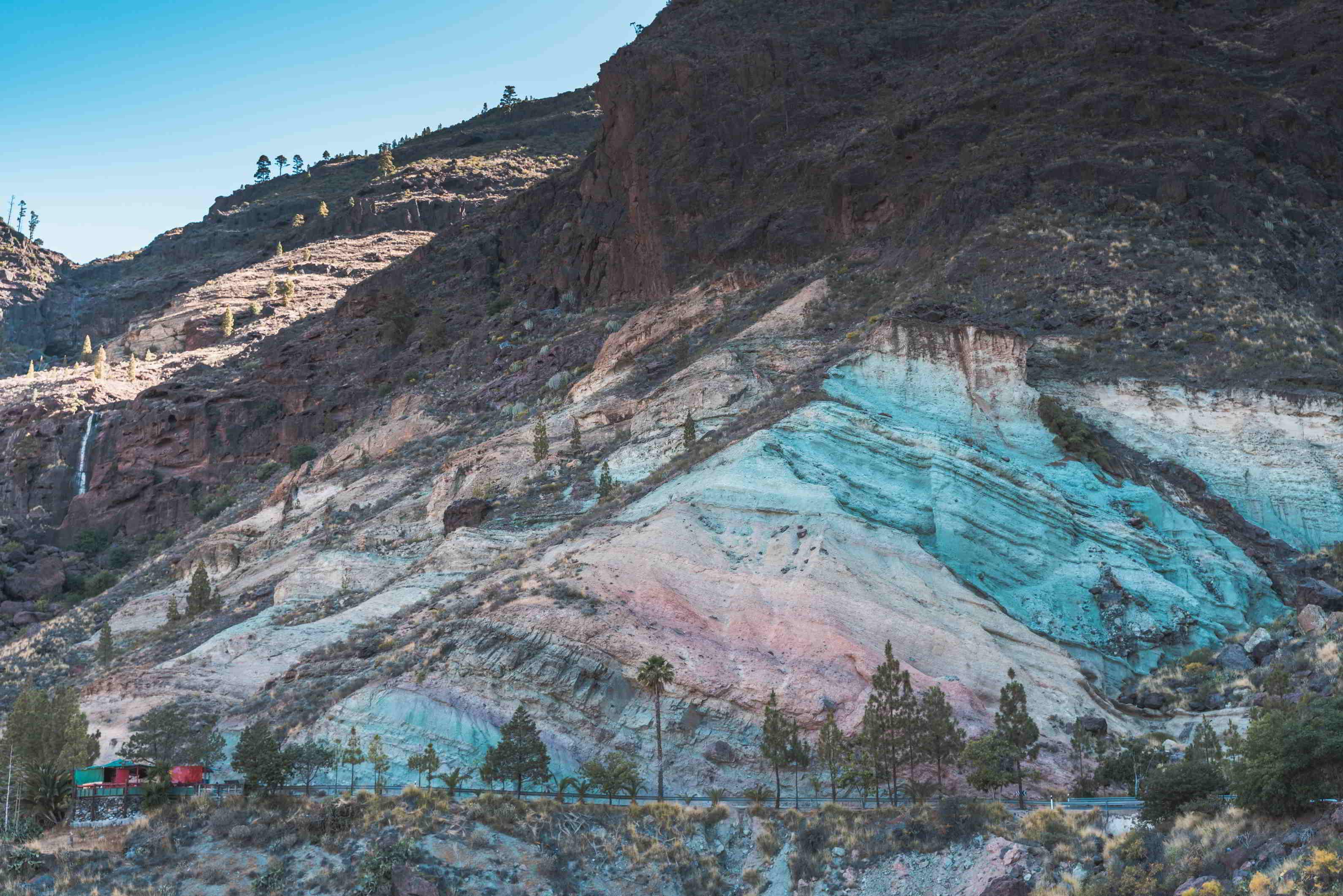 Los Azulejos Rainbow Rocks