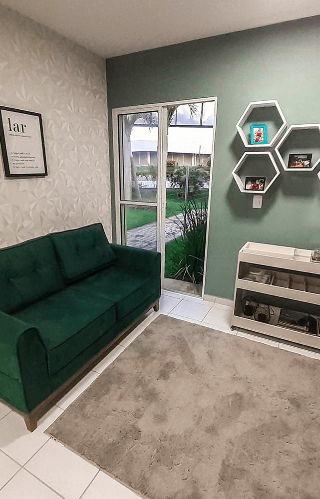 Sala do decorado do Green Park