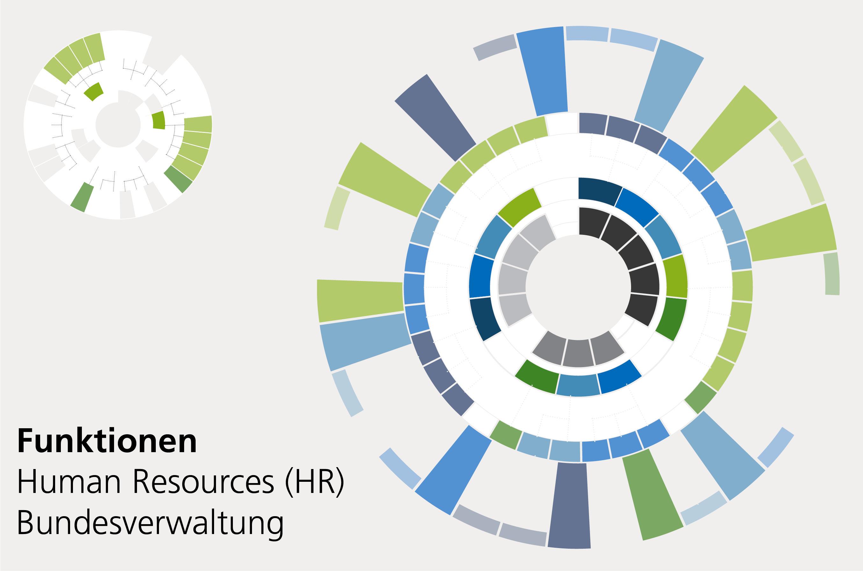 Human Resource - Grafiken Laufbahnmodell Personalstrategie der Bundesverwaltung
