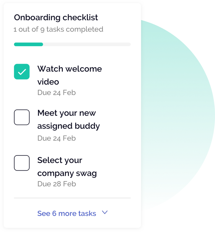 OfficeAccord Onboarding Checklist