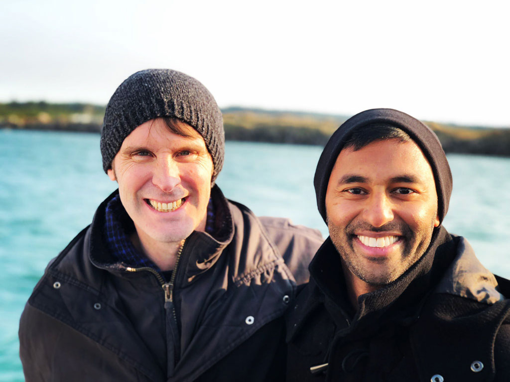 OfficeAccord's Cofounders Michael and Ben