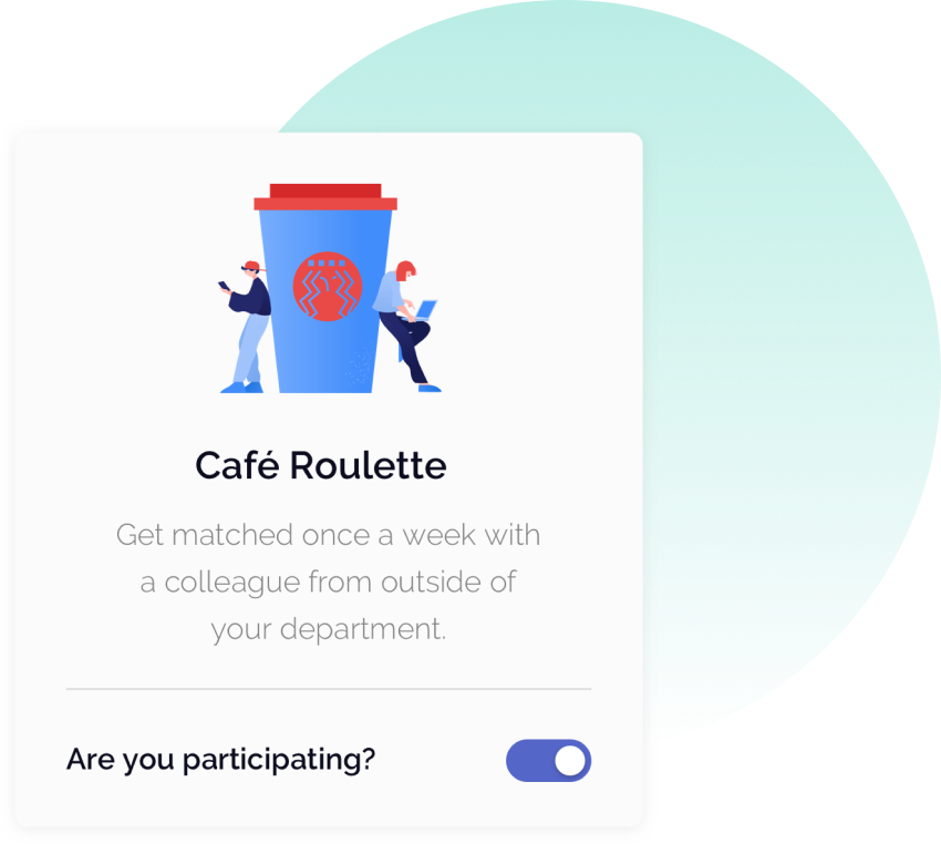 OfficeAccord Cafe Roulette