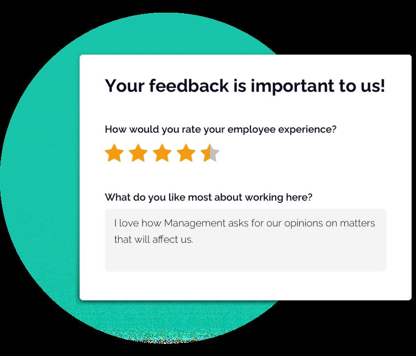 OfficeAccord feedback card