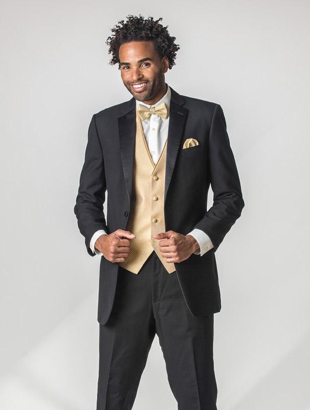 Perry Ellis - Slim Fit Tuxedo - Prom and Wedding Tuxedo Rental